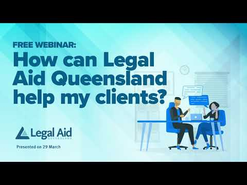 How can Legal Aid Queensland help my clients