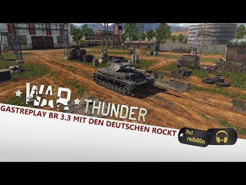 War Thunder | Gastreplay #72 | Der Panzer 4 F2 im Simulator - Gameplay - German