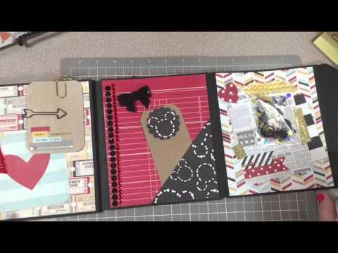 Disney-Themed Envelope Flip~Book