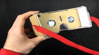 Cómo Hacer unas Gafas de Realidad Virtual en Casa