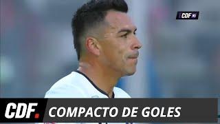 Colo Colo 2 - 0 Curicó Unido | Torneo Scotiabank 2018 Fecha 17 | CDF