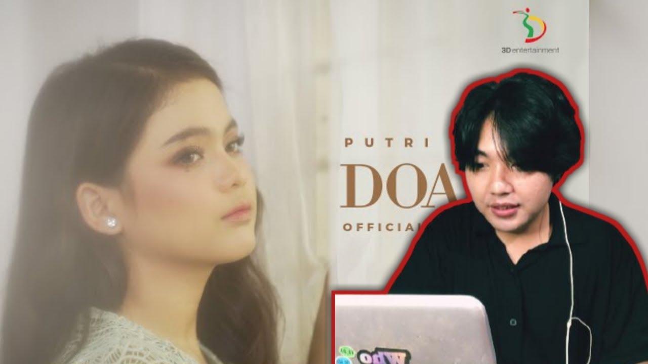 FIRST TIME REACTS Putri Isnari - Doaku | Official Music Video