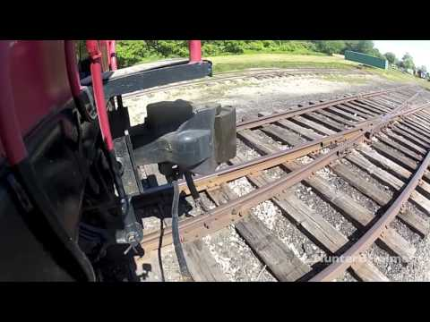 Conductor Switching Train Cars [HD]