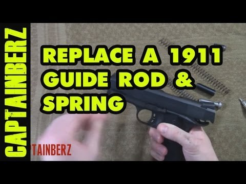 1911 Full Length Guide Rod, Spring & Plug Replacement