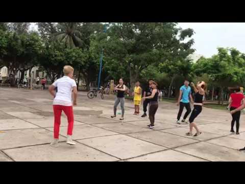 Zumba dance Russian instructor.
