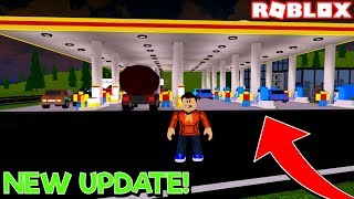 *NEW HUGE UPDATE* in GAS STATION SIMULATOR! (Roblox)