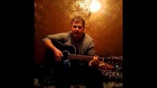 Песни под гитару.  Дождливый летний вечер