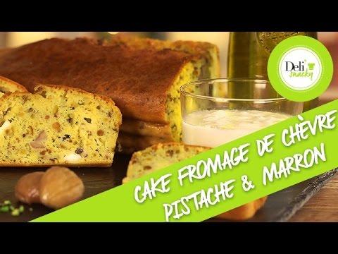 cake-salé-au-fromage-de-chèvre,-pistaches-&-marrons