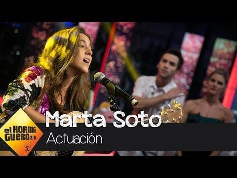 Marta Soto rpresenta su primer single, 'Ya lo sabes' - El Hormiguero 3.0