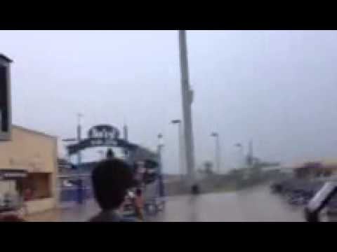 INSANE!! Lightning Blows Up Transformer!!