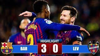 Barcelona vs Levante 3-0 Highlights & All Goals (17/01/2019)