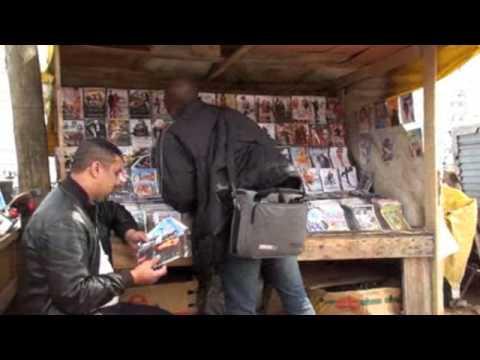 Black market in Casablanca