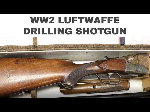 WW2 Luftwaffe Drilling Shotguns | M30 Hunting Rifle | Walk-in Wednesday