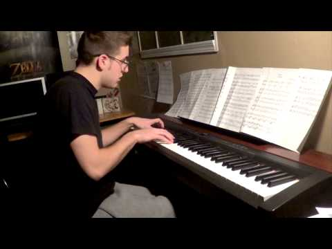Skyrim MEDLEY for Piano Solo HD