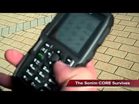Sonim XP1300 CORE Drop Test (German)