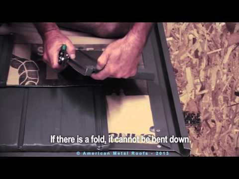 DIY - How To Install Metal Roof Shingles (Rustic Shingles) - American Metal Roofs