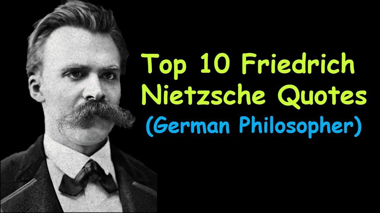 german philosopher nietzsche