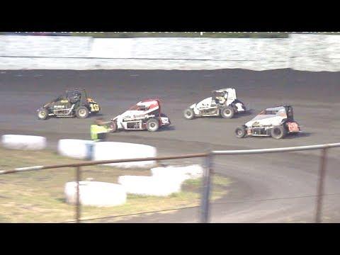 USAC/BCRA Midgets MAIN 6-10-17 Petaluma Speedway
