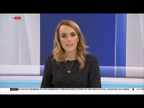 Rebecca Williams pres links & interview - 1000 17.02.2018 - Sky News