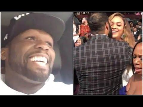 50 Cent Reacts To Omari Hardwick Kissing Beyonce