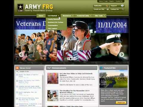AWN Resource Of The Week   Army FRG