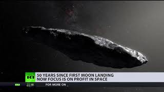 Sci-fi becoming reality: World's focus is on profit in space, 50yrs after first Moon landing
