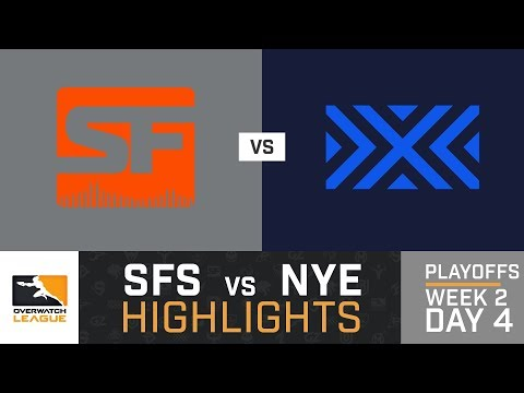 HIGHLIGHTS San Francisco Shock vs. New York Excelsior | Playoffs | Week 2 | Day 4 | Overwatch League