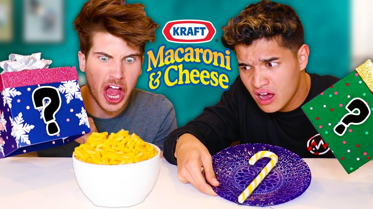 candy cane vs real food challenge w alex wassabi youtube