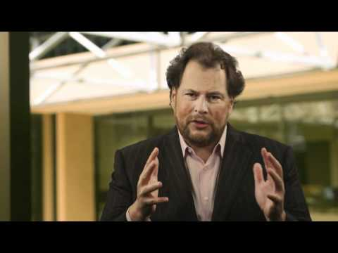 Marc Benioff talks about the Salesforce.com Foundation model (1/1/1)