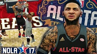 NBA 2K17 MyCAREER LVP - 2017 All Star Game & Dunk Contest! Breaking Anthony Davis 52 Point Record!