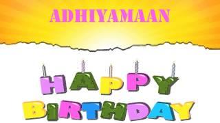 Adhiyamaan   Wishes & Mensajes - Happy Birthday