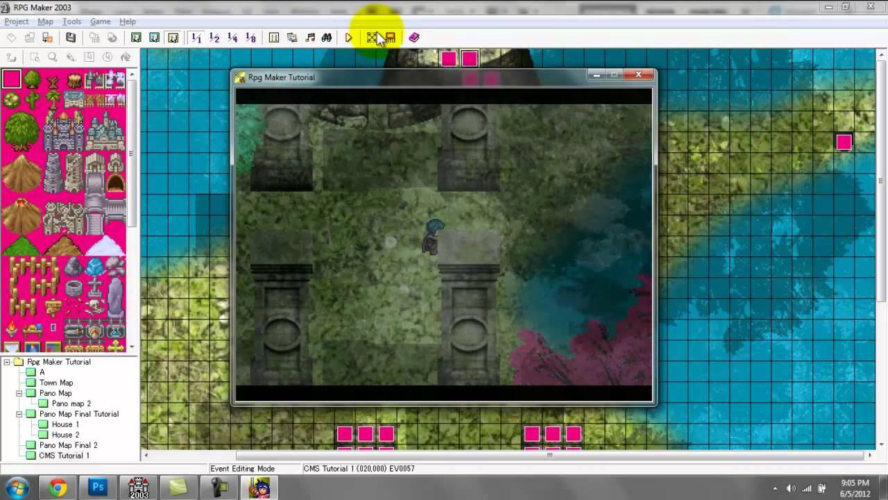 RPG Maker Tutorial Part 8A: Custom Menu System [Radial]