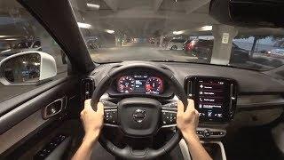 2019 Volvo XC40 T5 AWD Momentum - POV Sunrise Drive (Binaural Audio)