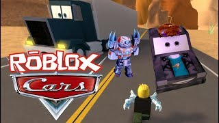 Twin Toys Plays Roblox: Cars 3