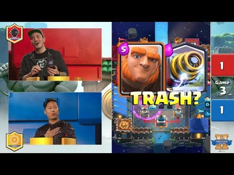 Orange Juice VS Nickatnyte  Clash Royale King's Cup 2017  $200,000 Clash Royale Tournament  Day 2