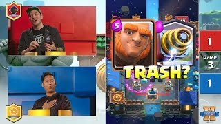 Orange Juice VS Nickatnyte | Clash Royale King's Cup 2017 - $200,000 Clash Royale Tournament - Day 2