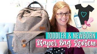 Video What's in My Diaper Bag? | HapTim Diaper Backpack Review | TODDLER & NEWBORN ESSENTIALS download MP3, 3GP, MP4, WEBM, AVI, FLV Mei 2018