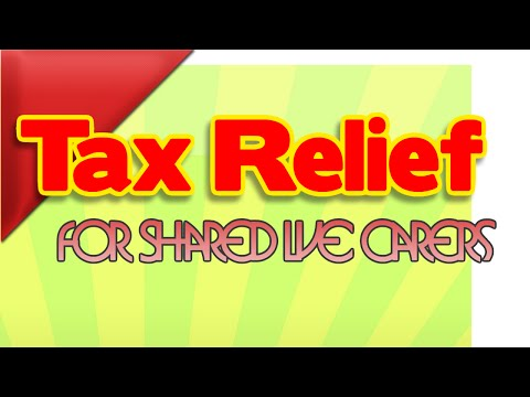 Tax Relief for Shared Lives Carers