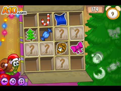 Улитка Боб 6 игра Зимние приключения