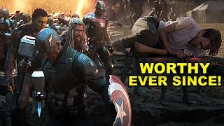 The EXACT Moment Captain America Became WORTHY- Full EXPLAINED in 6 Minutes