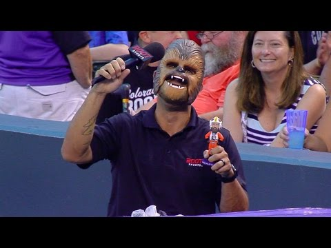 Star Wars Night is celebrated at Coors Field