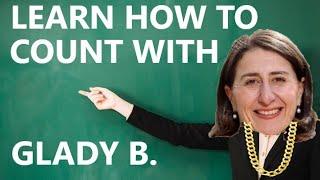 learn how to coขnt with gladys berejiklian