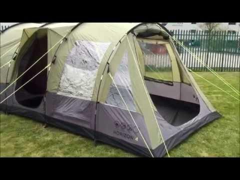 & Gelert Horizon 4 Tent 2015 - YouTube