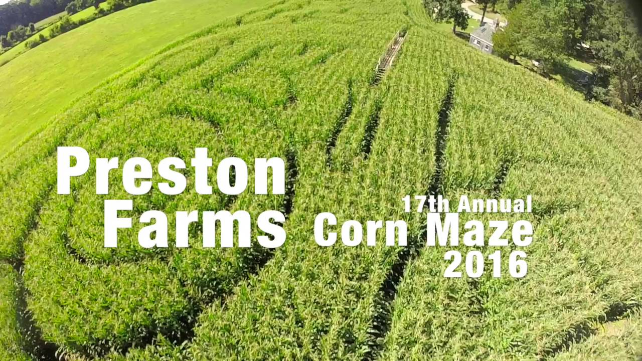 Preston Farms Corn Maze 2016 Area 51 Youtube
