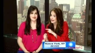 Danna y Claudia García en Despierta América