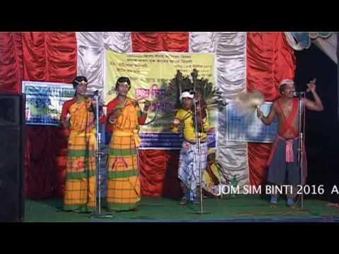 new santali video DURGAPUR 2016 SING SINGRAI LOBA MURMU part 2
