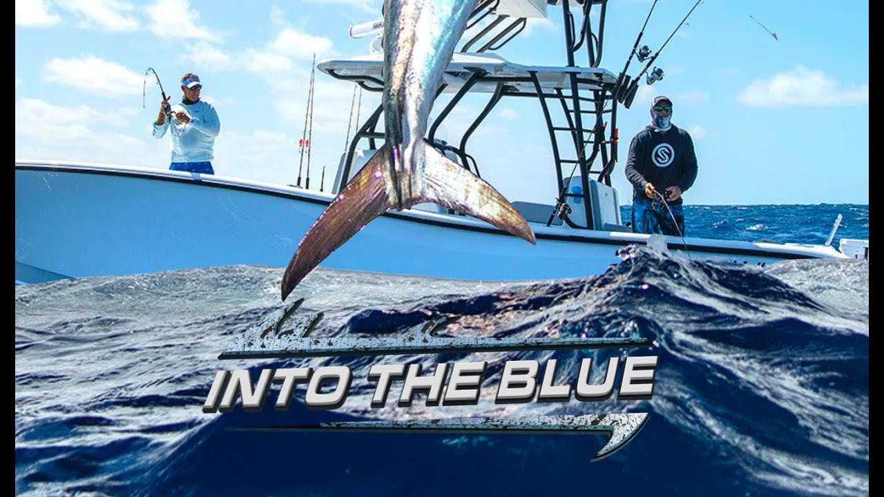 THE KING BITE was on INSANE!! Catching BIG KING FISH in KEY WEST   Into The Blue