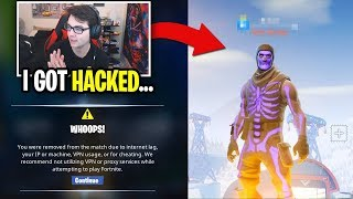 My Fortnite Account Was Hacked... (and I lost my name)