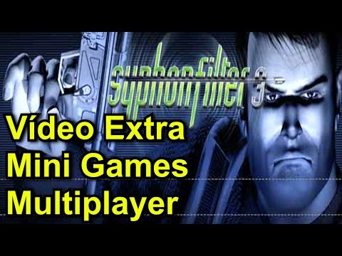 Vídeo Extra de Syphon Filter 3 PS1 - Mini Games e Multiplayer Versus