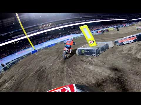 GoPro: Cole Seely Main Event #2 Monster Energy Supercross from Anaheim 2